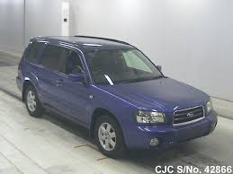 blue subaru forester 2003 2003 subaru forester blue for sale stock no 42866 japanese