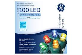 ge led christmas lights christmas decor
