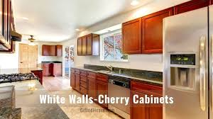 best color to paint kitchen with cherry cabinets cherry wood kitchen cabinets countertop wall colors