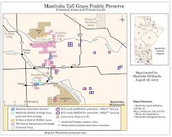 Ncc Map Manitoba Protected Areas Announcements