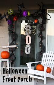 halloween front porch decor front porches porch and halloween fun