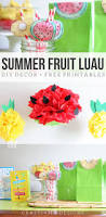 Summer Party Decorations Summer Fruit Luau How To Make Pineapple And Watermelon Party
