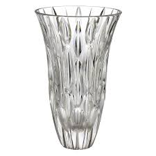 Waterford Crystal Small Vase By Waterford Crystal Rainfall Vase