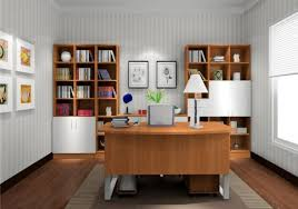 light gray wallpaper for elegant study room 3d house