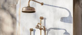 Outdoor Shower Head Copper - outdoor shower australia showers by the pool the english