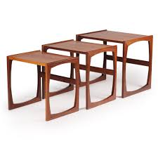 G Plan Dining Room Furniture by Mid Century British Teak Nest Of Tables From G Plan 1960s For