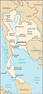 map of thailand thailand map driving directions and maps