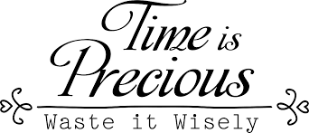 family quotes vinyl wall decals time is precious waste it wisely