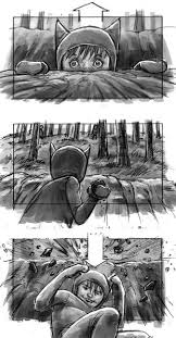 cartoon snap storyboards from where the wild things are