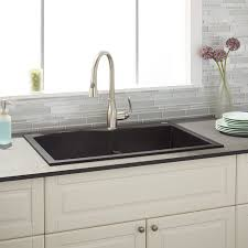 Kitchen Sinks Drop In Double Bowl by Best 20 Granite Composite Sinks Ideas On Pinterest Composite