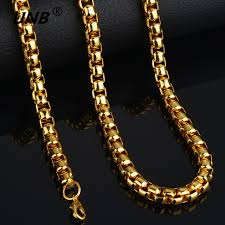 brand necklace aliexpress images 2017 fashion friendship thick gold chain necklace male new 70cm jpg