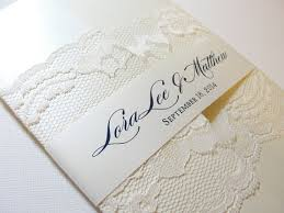 vintage lace wedding invitations vintage lace wedding invitation ipunya