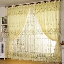 popular curtains popular yellow bedroom curtains buy cheap balcony the finished for