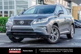used lexus for sale montreal 2014 lexus rx 350 touring used for sale in awd nav
