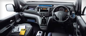 nissan cargo van interior nissan malaysia nv200 overview
