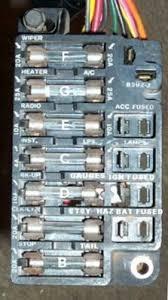 67 chevelle fuse panel chevelle tech