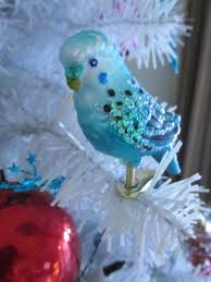 blue budgie ornament by sorath rising on deviantart