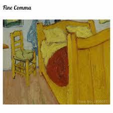 la chambre à coucher de vincent gogh chambre en arles 2ème version by vincent gogh peint à la
