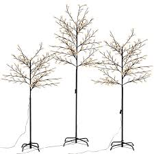 Floor Lamp Tree Branches Christmas Xmas Cherry Blossom Tree W Led Light Seasonal