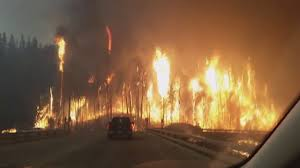 Wildfire Fighting Canada by Fort Mcmurray Massive Wildfire May 3 4 2016 Canada Alberta