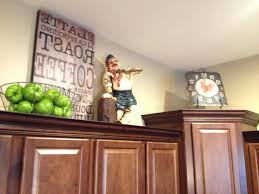 moretop of kitchen cabinet christmas decorating ideas top