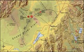 Idaho State Map by Isu Geosciences Maps