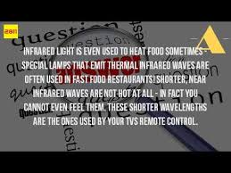 what is infrared light used for how do we use infrared waves youtube