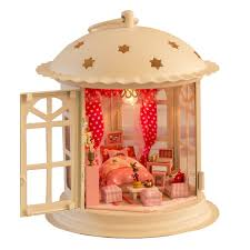 Sweet Coffee Shop France Style Diy Doll House 3d Miniature Online Buy Wholesale Toys Homee From China Toys Homee Wholesalers