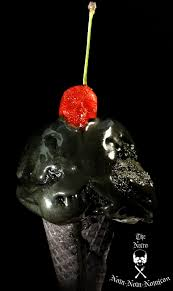 Cold Halloween Appetizers by Halloween Recipe Black Cherry Chocolate Chunk Ice Scream Eat