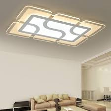 plafonnier chambre eusolis 110 220v ultra thin transparent light led ceiling