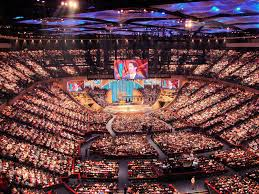 this is joel osteen u0027s megachurch thanks for your help this week