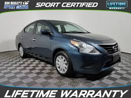 nissan versa reviews 2016 used 2016 nissan versa 1 6 sv 4d sedan in orlando zr851142
