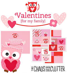 valentines for printables archives the chaos and the clutter