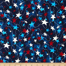 Blue And White Flag Cross Patriotic U0026 Americana Discount Designer Fabric Fabric Com