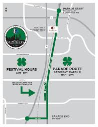 Map Dallas Parade Map Dallas St Patrick U0027s Parade U0026 Festival