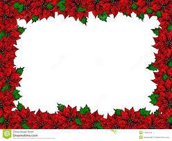 Christmas Flowers Christmas Flower Frame Stock Photos Image 11504723