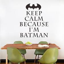 keep calm because i m batman