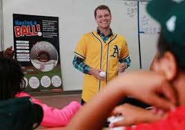 makeup schools bay area oakland a s brings science of baseball to richmond school