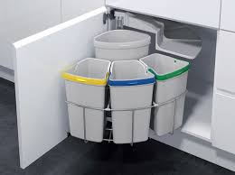 kitchen innovative of kitchen trash can ideas kitchen stainless