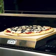 thermom re de cuisine 15 x 16 inch pizza with built in thermometer bbq guys