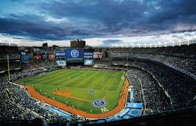 yankee stadium home run lights nyc fc a look at yankee stadium as a soccer venue empire of soccer