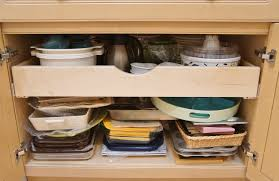 roll out shelves for kitchen cabinets installing pull out shelves in kitchen cabinets heartwork