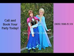 elsa anna frozen birthday party youtube