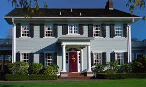 colonial homes exterior paint colors for colonial homes