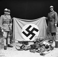 Germany Ww1 Flag German Taken By French German And French Army