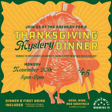 st louis craft events thanksgiving week mystery dinner