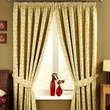 bedroom or living room great white floral curtains
