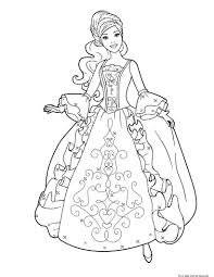 coloring pages of dresses