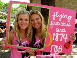 sorority picture frame 9 things to thank your sorority for