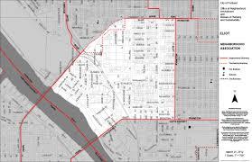 Portland Maps Crime by Eliot Neighborhood Association Northeast Coalition
